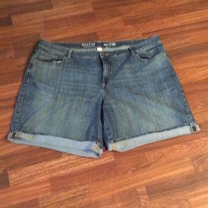 Sonoma Bermuda Jean Shorts